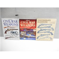 CIVIL WAR WEAPON BOOKS