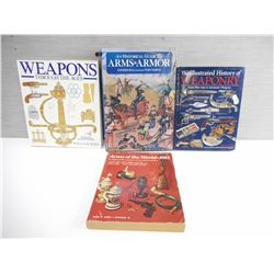 ASSORTED WEAPONS AND ARMOR BOOKS