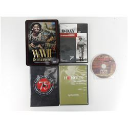 ASSORTED WWII DVD'S