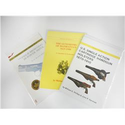ASSORTED MILITARY VEHICLE TYPE BOOKS