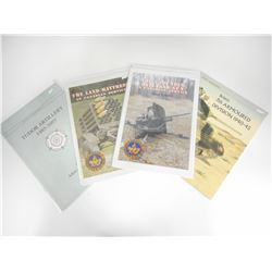 ASSORTED MILITARY ARTILLARY TYPE BOOKS