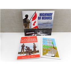 CANADIAN VETERANS TYPE BOOKS