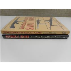 ASSORTED WWII MILITARY FIREARMS BOOKS