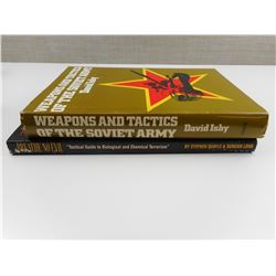 ASSORTED WEAPONS TACTICS BOOKS