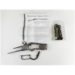 WINCHESTER 1873 RECIEVER AND PARTS