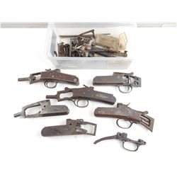 ASSORTED GUNSMITH SHOTGUN RECEIVER PARTS