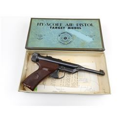 HY-SCORE AIR PISTOL TARGET MODEL WITH BOX