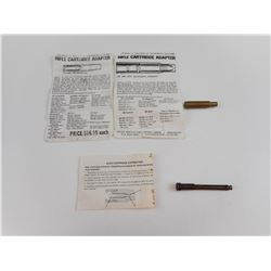 SPORTS SPECIALTIES .222 TO .22LR CARTRIDGE ADPATER