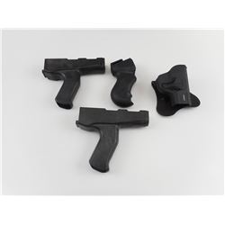 ASSORTED HOLSTER AND GRIPS