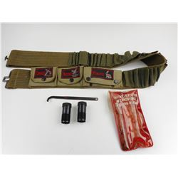 WINCHESTER INVECTOR CHOKES AND AMMO BELT