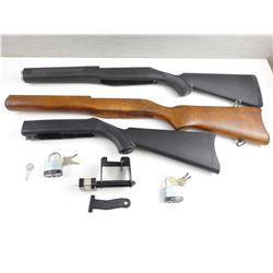 ASSORTED RUGER STOCKS