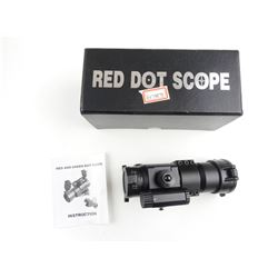 RED AND GREEN DOT SCOPE IN BOX