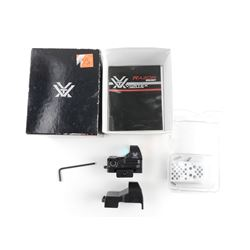 VORTEX RAZOR 6 MOA DOT SIGHT WITH BOX AND MANUAL