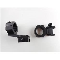 LEUPOLD MOUNTING SCOPE RINGS