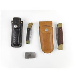 ASSORTED FLIP POCKET KNIVES
