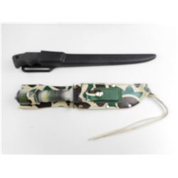 SURVIVAL KNIFE AND TARPON FILLET KNIFE