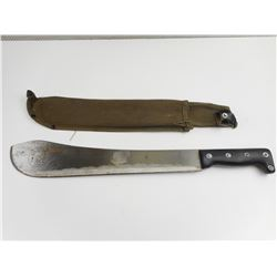 HAND BOLO FORGED MACHETE WITH NYLON SHEATH