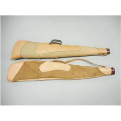 SOFT LEATHER RIFLE CASES