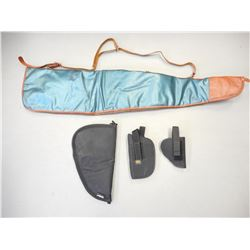 ASSORTED SOFT RIFLE AND HAND GUN CASES