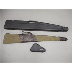 ASSORTED HARD AND SOFT GUN CASES