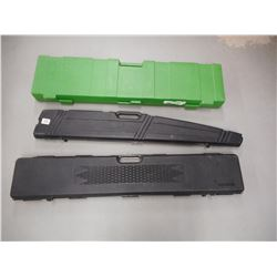 ASSORTED HARD RIFLE CASES