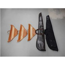 ASSORTED SOFT RIFLE AND HANDGUN CASES