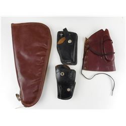 LEATHER HOLSTERS AND SOFT GUN CASE