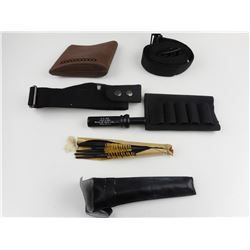 ASSORTED SLINGS, SLIP ON RECOIL PAD, AND CLEANING KIT