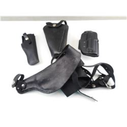 ASSORTED PISTOL HOLSTERS