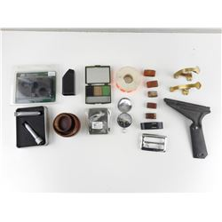 ASSORTED SHOOTING ACCESSORIES