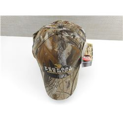 FEDERAL PREMIUM  AMMUNITION CAMO HATS, APPEAR IN NEW CONDITION.