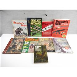 ASSORTED HUNTING/SHOOTING BOOKS