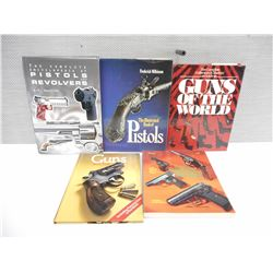 ASSORTED PISTOL BOOKS OF THE WORLD