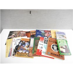 ASSORTED GUN BOOKS AND CATALOGS