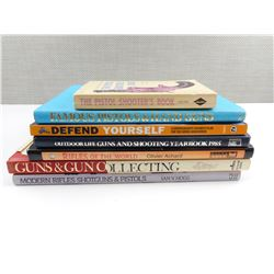 ASSORTED GUNS AND RIFLE BOOKS