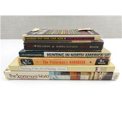 ASSORTED SPORTSMAN HUNTING BOOKS