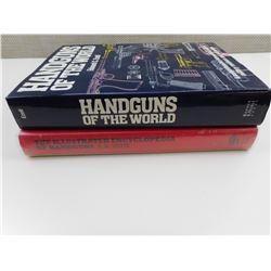 ASSORTED HANDGUN BOOKS