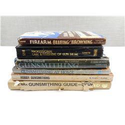 ASSORTED GUNSMITHING BOOKS