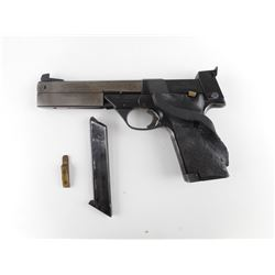 HIGH STANDARD  , MODEL: SUPERMATIC TROPHY 106 MILITARY  , CALIBER:  22 LR