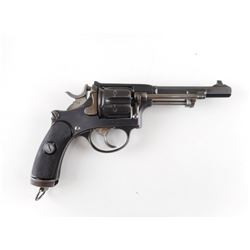 SWISS SERVICE , MODEL: 1882 , CALIBER:  7.5MM SWISS REVOLVER