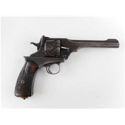 RARE WWI ERA, WEBLEY FOSBERY , MODEL: 1901 AUTOMATIC REVOLVER , CALIBER:  455 REV