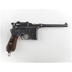 MAUSER , MODEL:  C96 BROOMHANDLE 1920 , CALIBER:  9MM LUGER