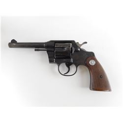 COLT , MODEL: OFFICIAL POLICE , CALIBER:  38 SPL