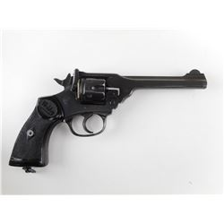 WEBLEY , MODEL: MARK IV POLICE & MILITARY TARGET , CALIBER:  38 S&W