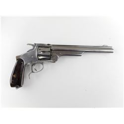 UNKNOWN BELGIAN  , MODEL: SMITH & WESSON NO3 SINGLE ACTION RUSSIAN MODEL 3 COPY  , CALIBER:  44 RUSS