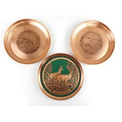 HAND CRAFTED COPPER ENGRAVED PLATES