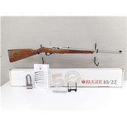 RUGER  , MODEL: 10-22 50 YEARS COMMEMORATIVE 1964-2014 , CALIBER:  22 LR