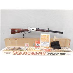WINCHESTER , MODEL: 94 SASKATCHEWAN DIAMOND JUBILEE 1905-1980 , CALIBER:  38-55 WIN