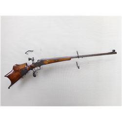 RARE, UNKNOWN GERMAN  , MODEL: SINGLE SHOT SCHUTZEN  , CALIBER:  8.15 X 46R