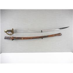 US 1840 PATTERN CAVALRY SWORD AND SCABBARD
